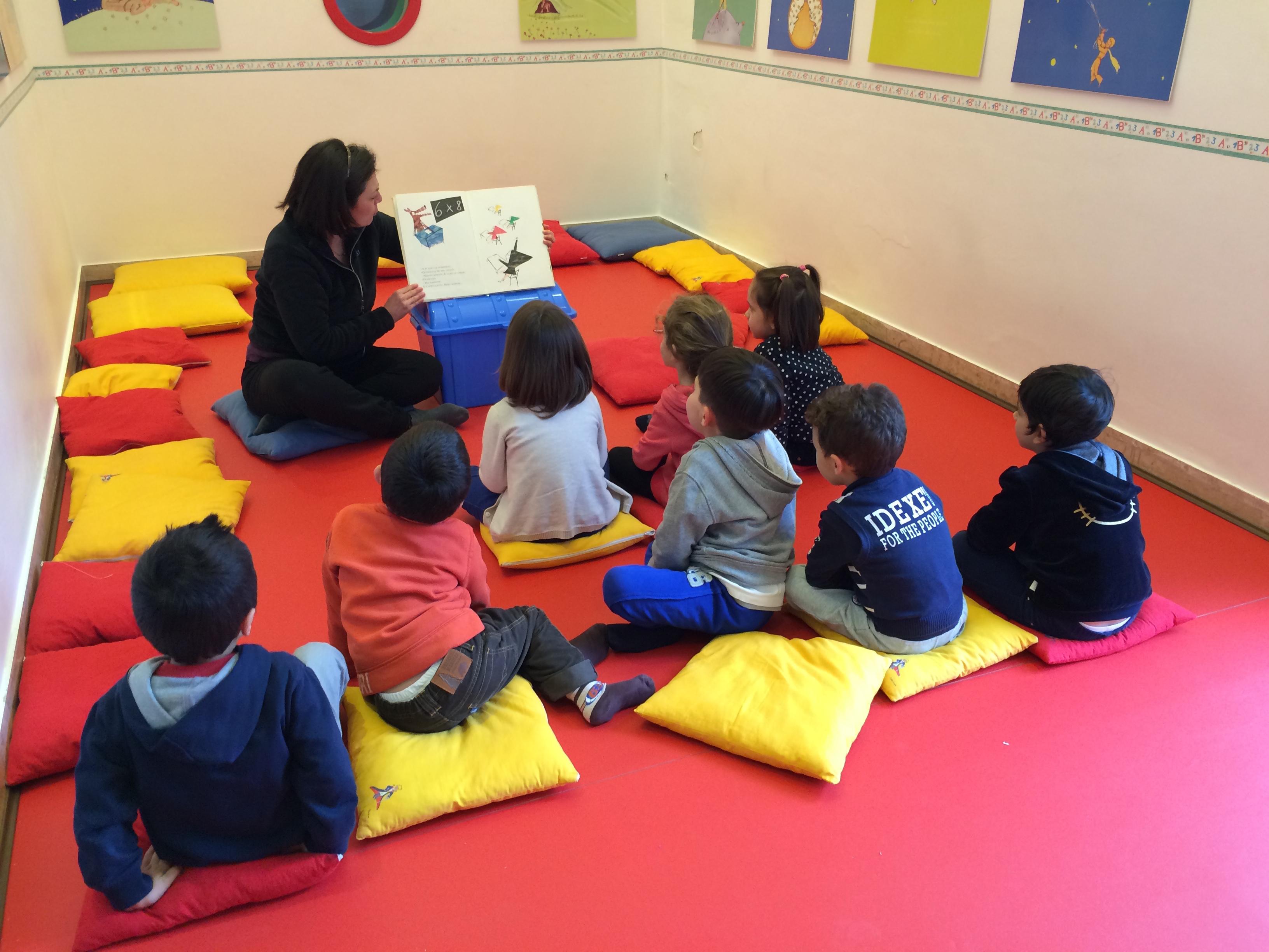 Laboratori di lettura ad alta voce per i più piccoli
