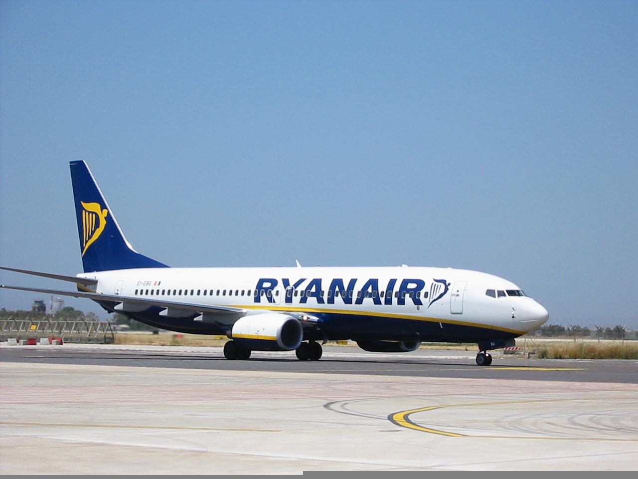 Aeroporto Birgi Ryanair