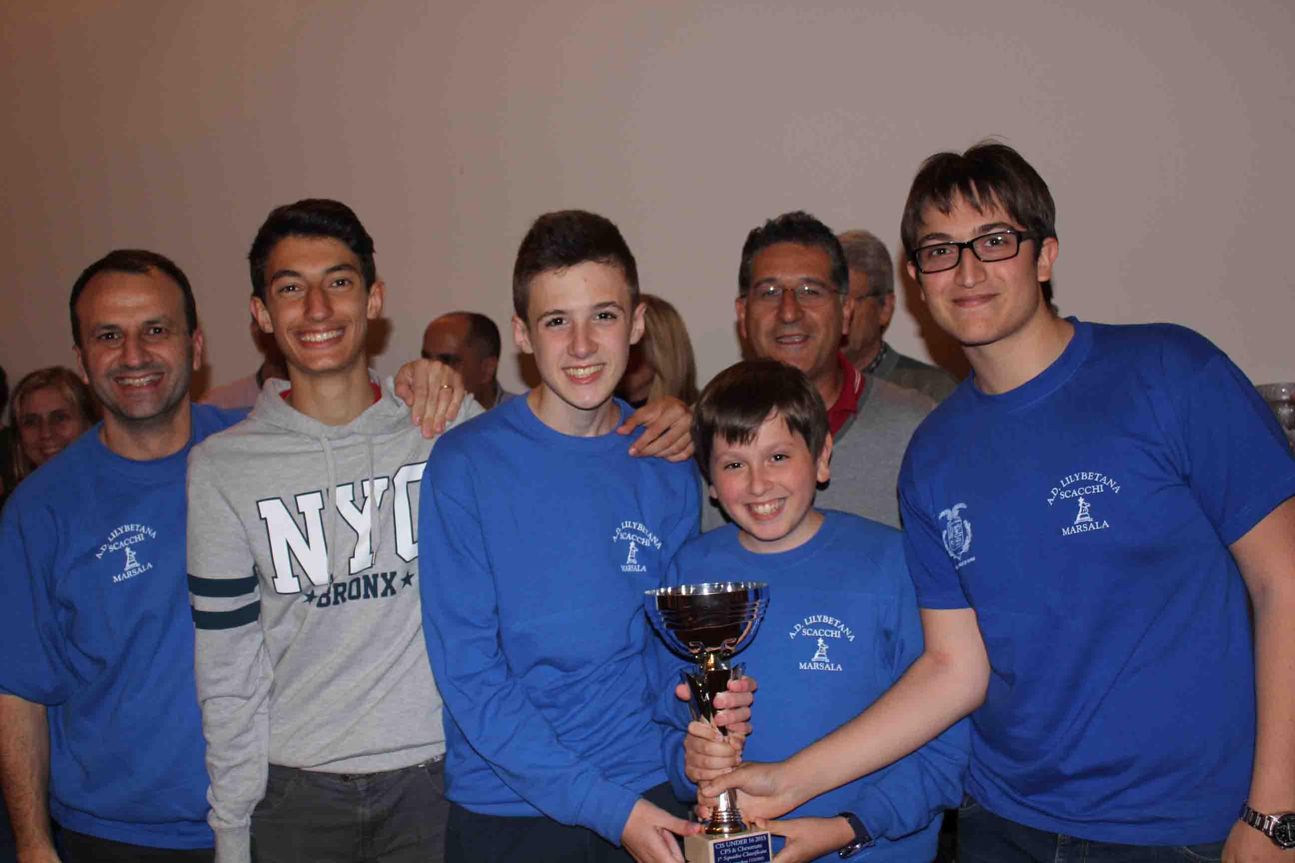 La lilybetana scacchi alle finali nazionali under 16 a squadre for Marchetti rivarolo
