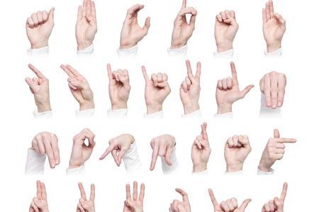Risultati immagini per lingua segni