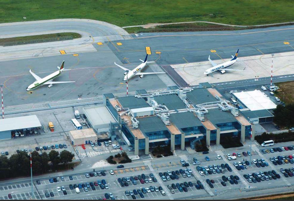 L'aeroporto Trapani-Birgi,