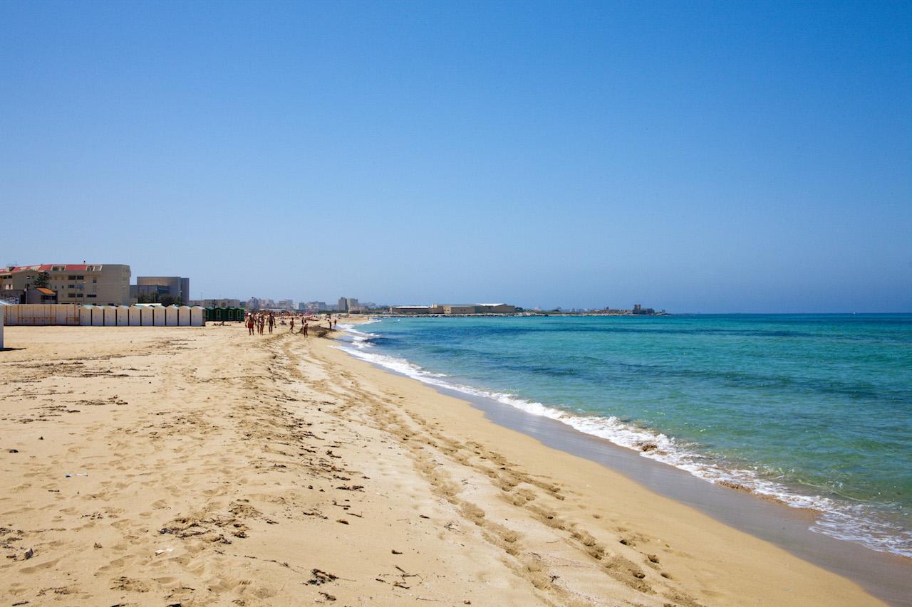 Spiaggia San Giuliano Erice