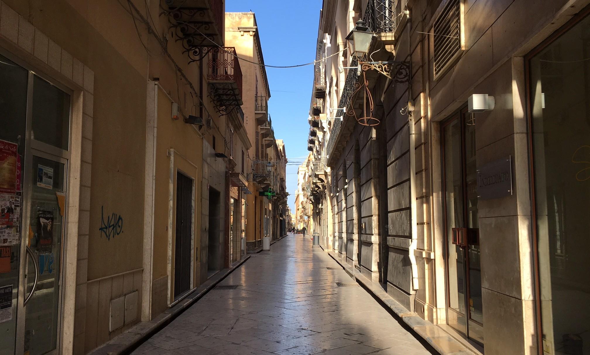 marsala centro storico via XI maggio