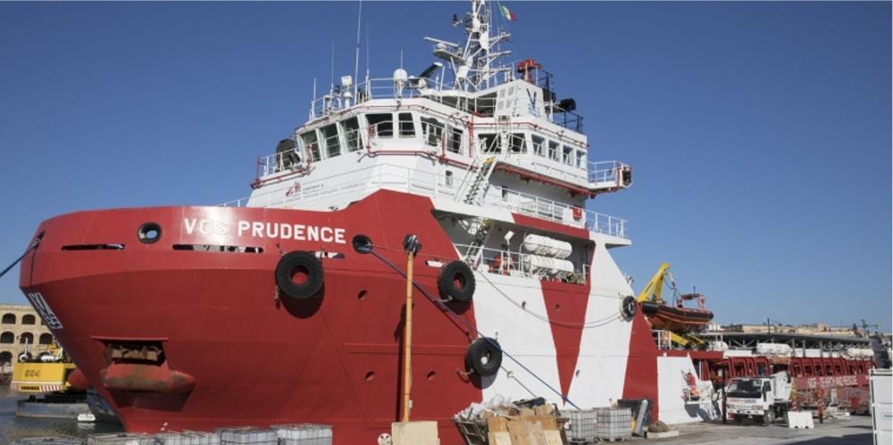 La nave Prudence di MSF