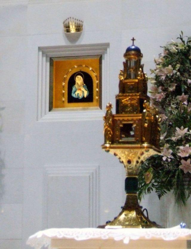 il Reliquiario della Madonna delle Lacrime di Siracusa