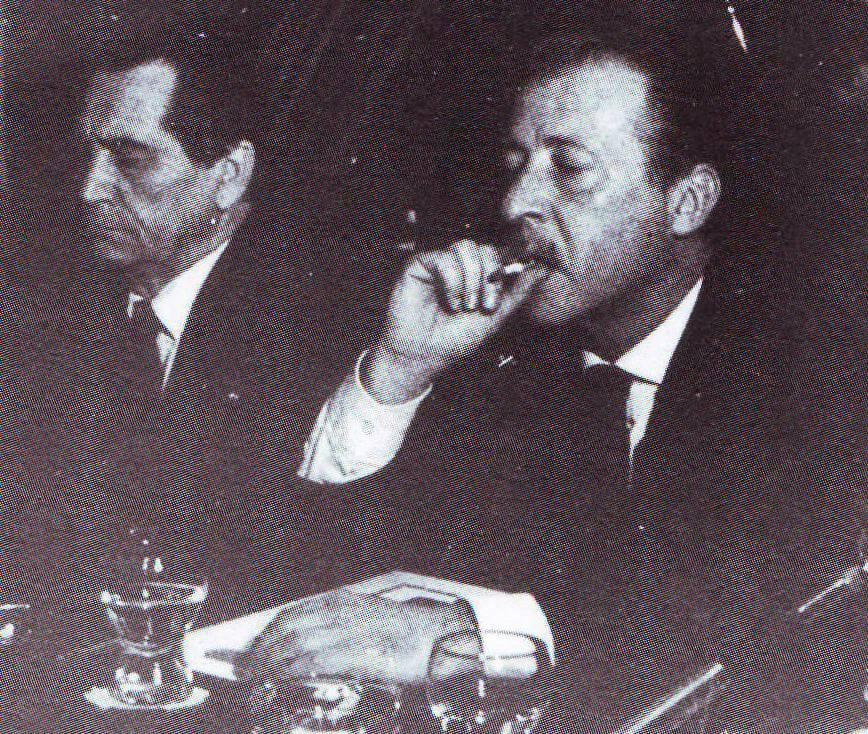 Dino Grammatico e Paolo Borsellino