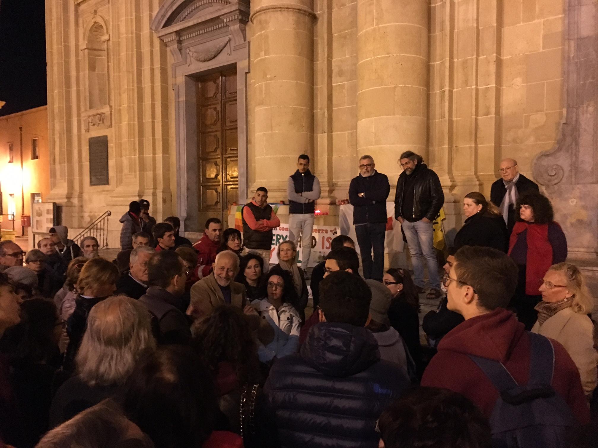 manifestazione contro le guerre