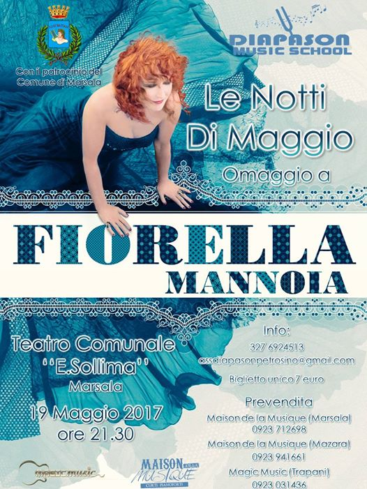 Diapason Music School Omaggio a Mannoia