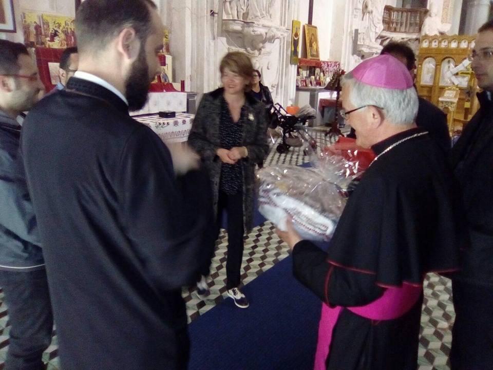 Vescovo Fragnelli pasqua ortodossi