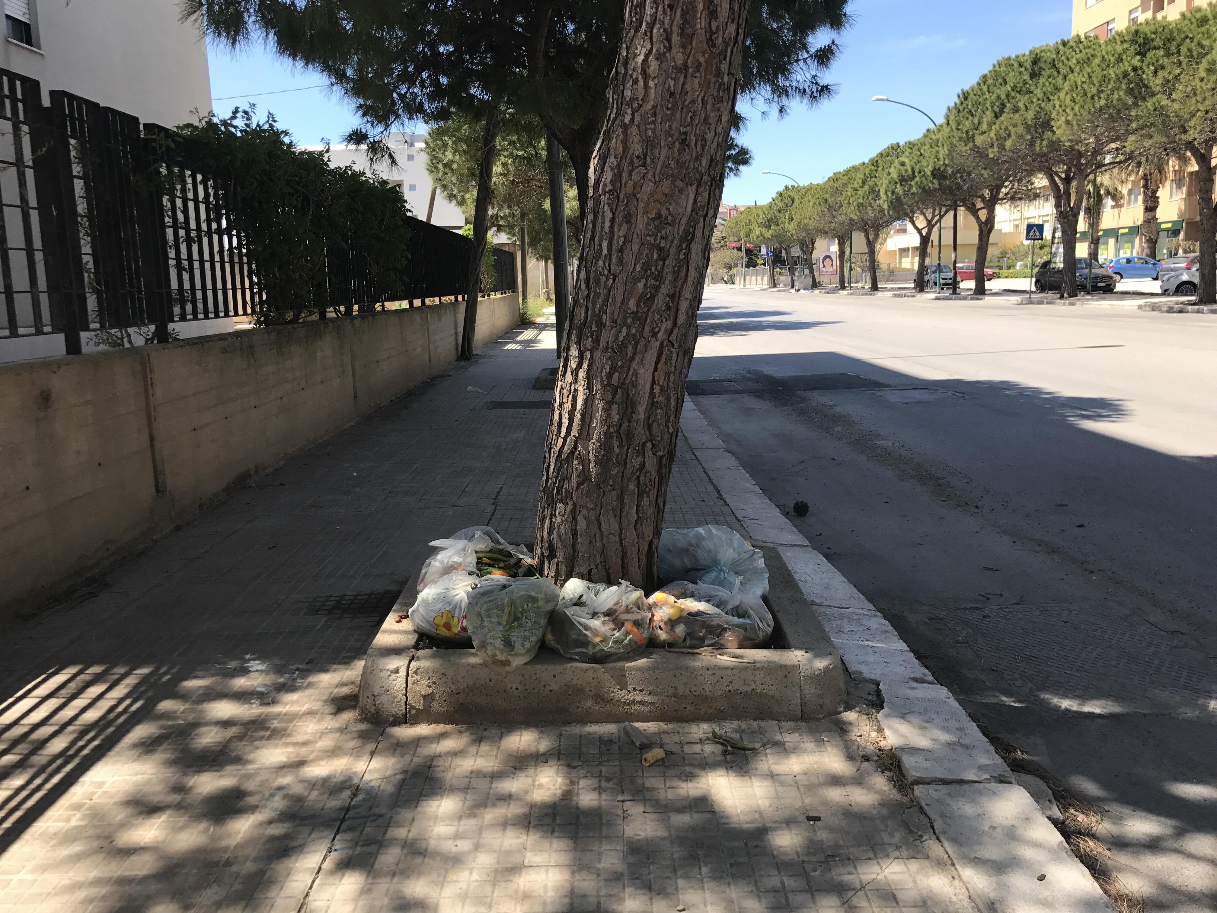Trapani: tornano i cassonetti nelle aree della differenziata porta a porta