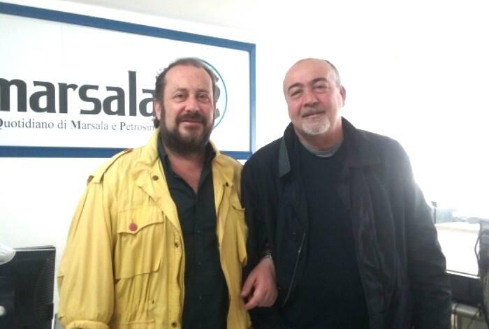 Claudio Forti e Salvo Ciaramidaro