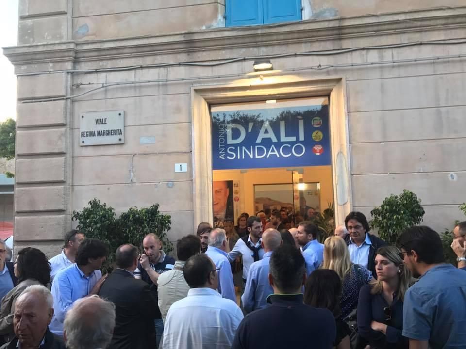 """Costituito un comitato per sostenere la prosecuzione della campagna elettorale di D'Alì """"anche Berlusconi ha confermato stima e affetto"""""""