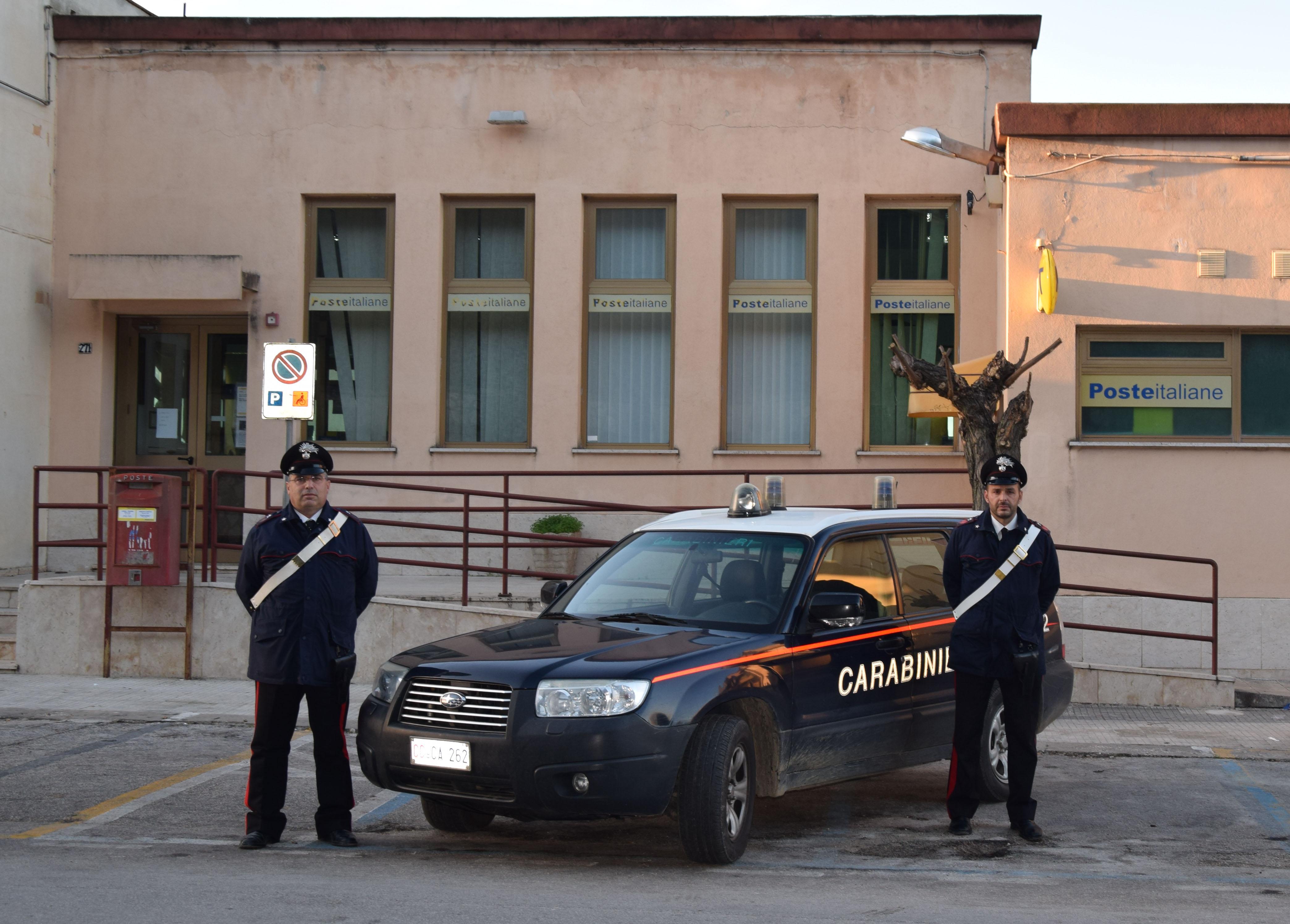 Valderice carabinieri