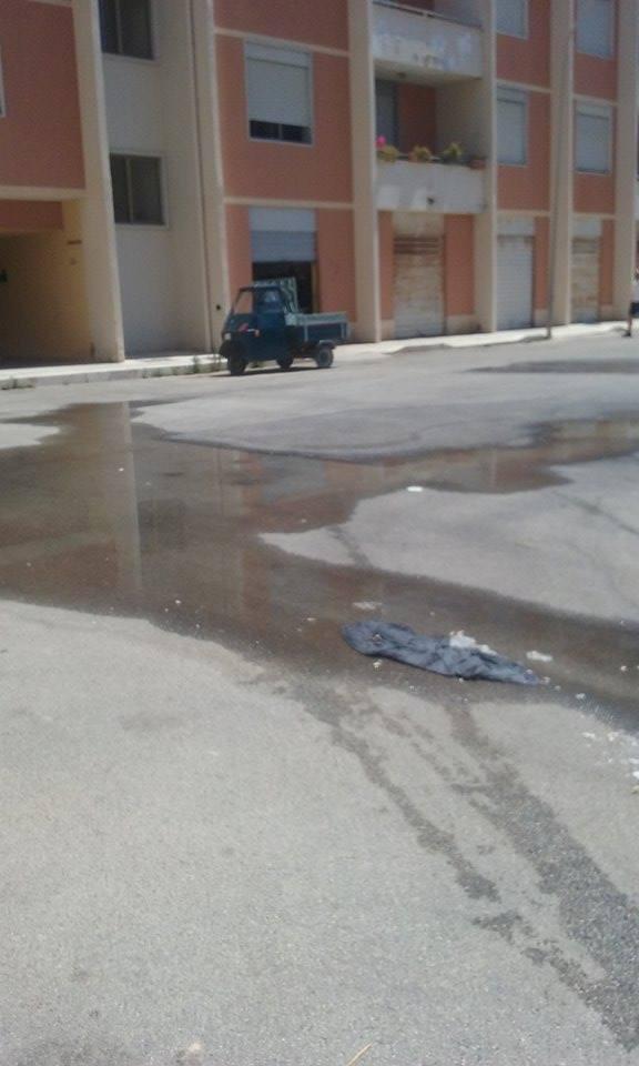 perdita d'acqua ad Amabilina