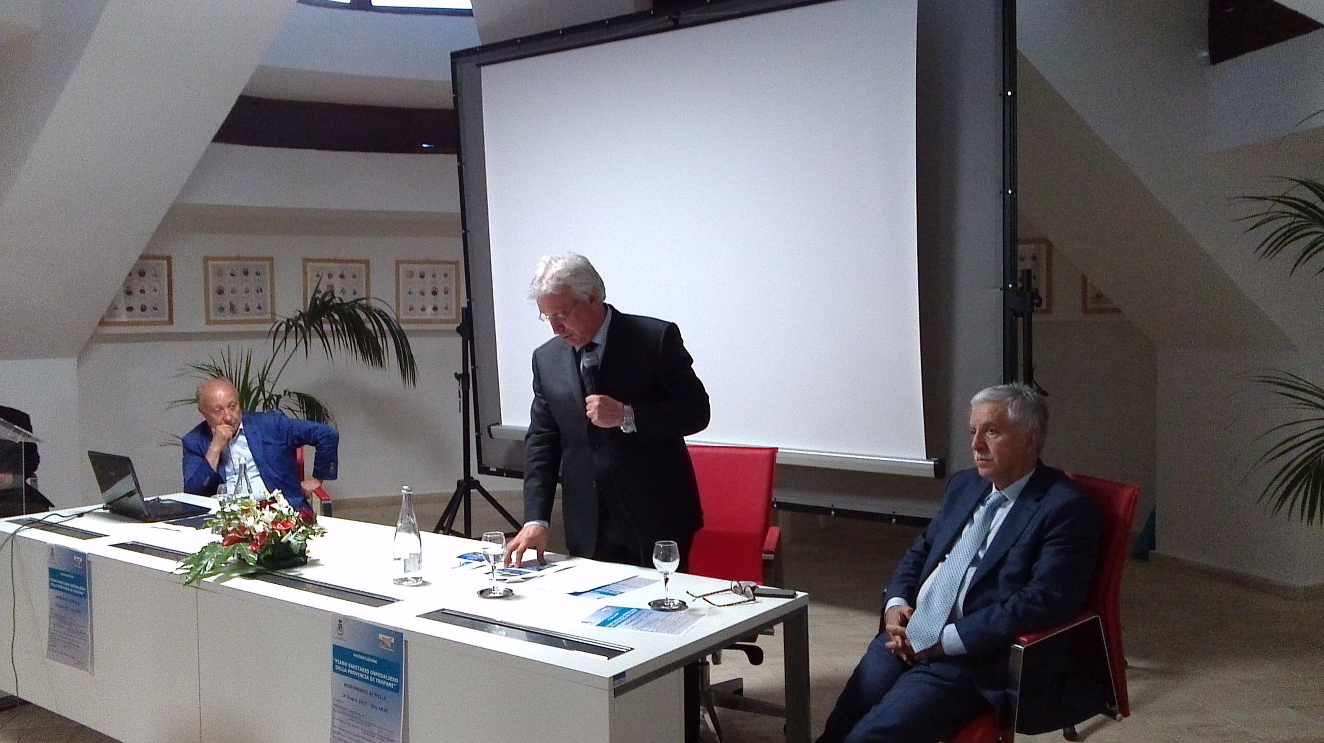 Gucciardi presenta il piano di riassetto della rete ospedaliera trapanese