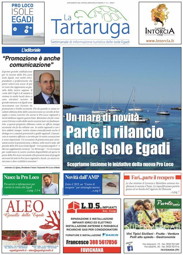 settimanale isole Egadi - La Tartaruga