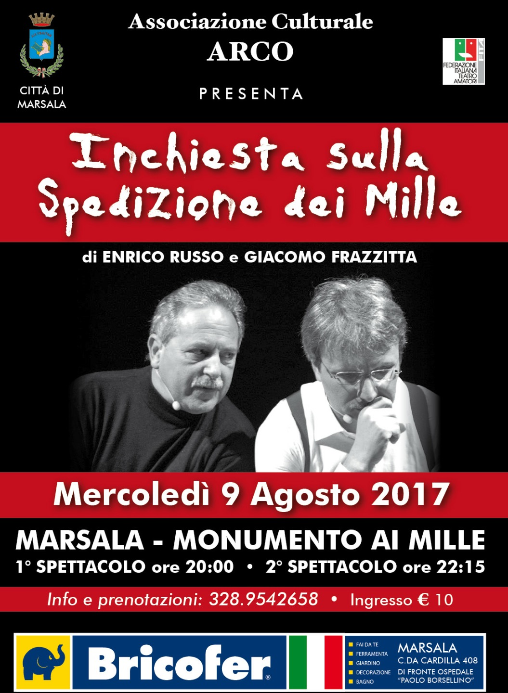 Inchiesta sulla spedizione dei mille archives itaca notizie for Volantino bricofer marsala