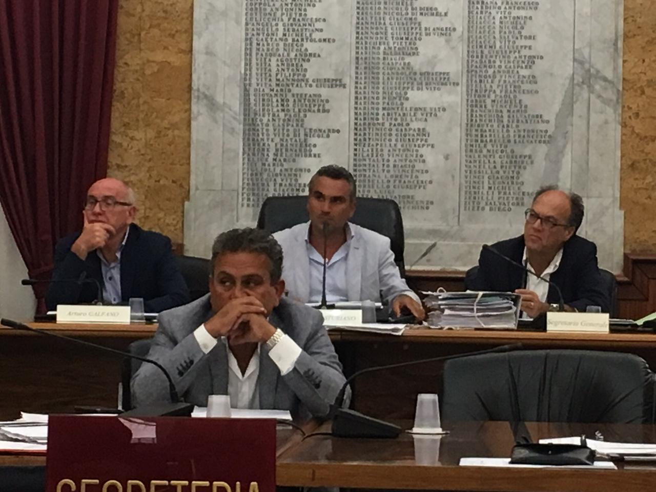 Seduta Consiglio comunale Marsala 30 agosto 2017