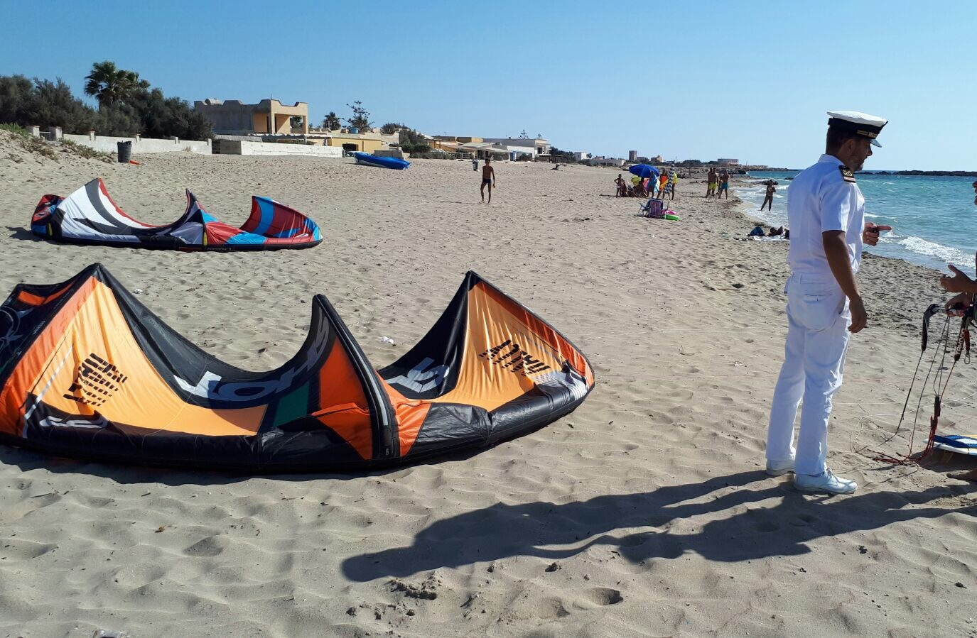 Kite surf sotto costa