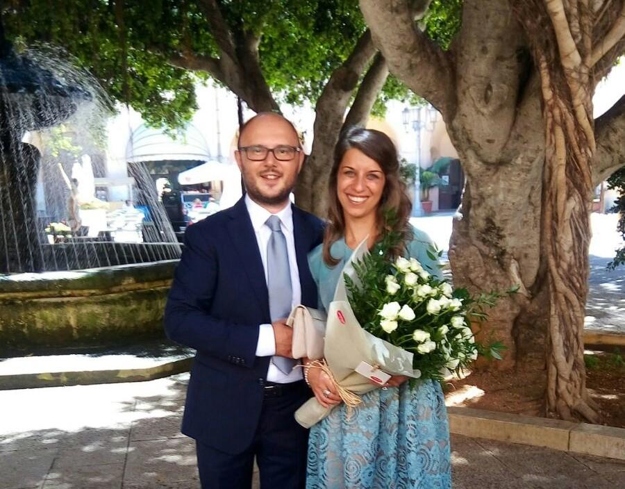 Renato e Roberta sposi