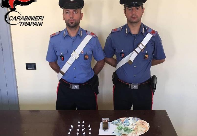 arresto giovane - droga Pantelleria