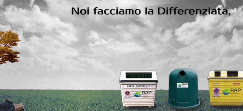 rifiuti organici Palermo RAP