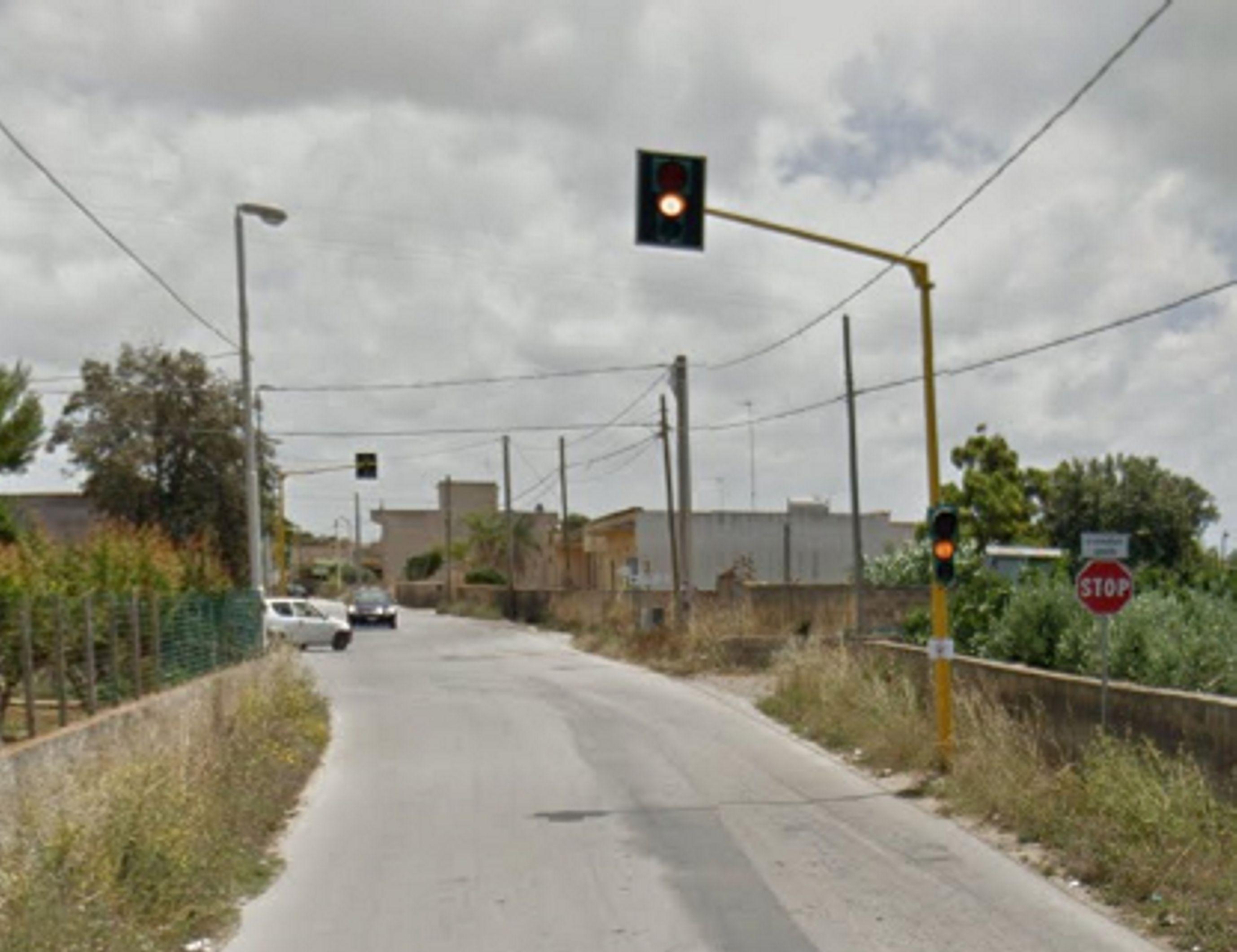 semaforo contrada Ventrischi