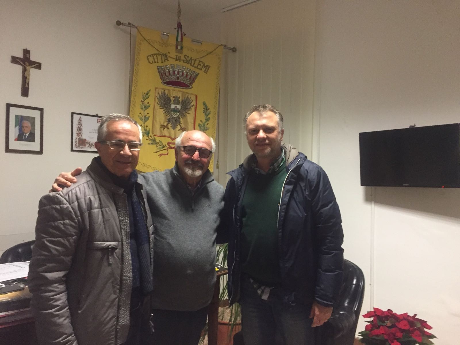 Calogero Angelo, Aldo Sessa, Vito Scalisi