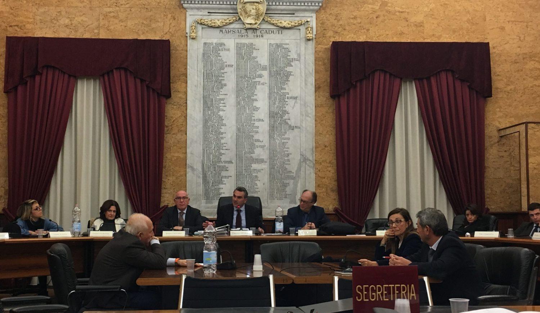 Consiglio comunale Marsala 12 dicembre
