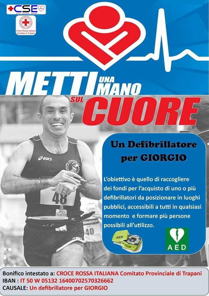Un defibrillatore per Giorgio
