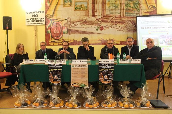 iniziativa del comitato contro l'inceneritore di Gallitello