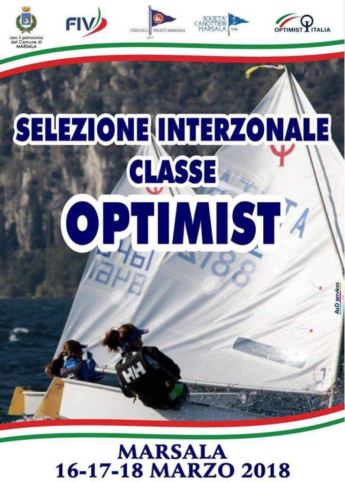 LOCANDINA selezione interzonale Optimist