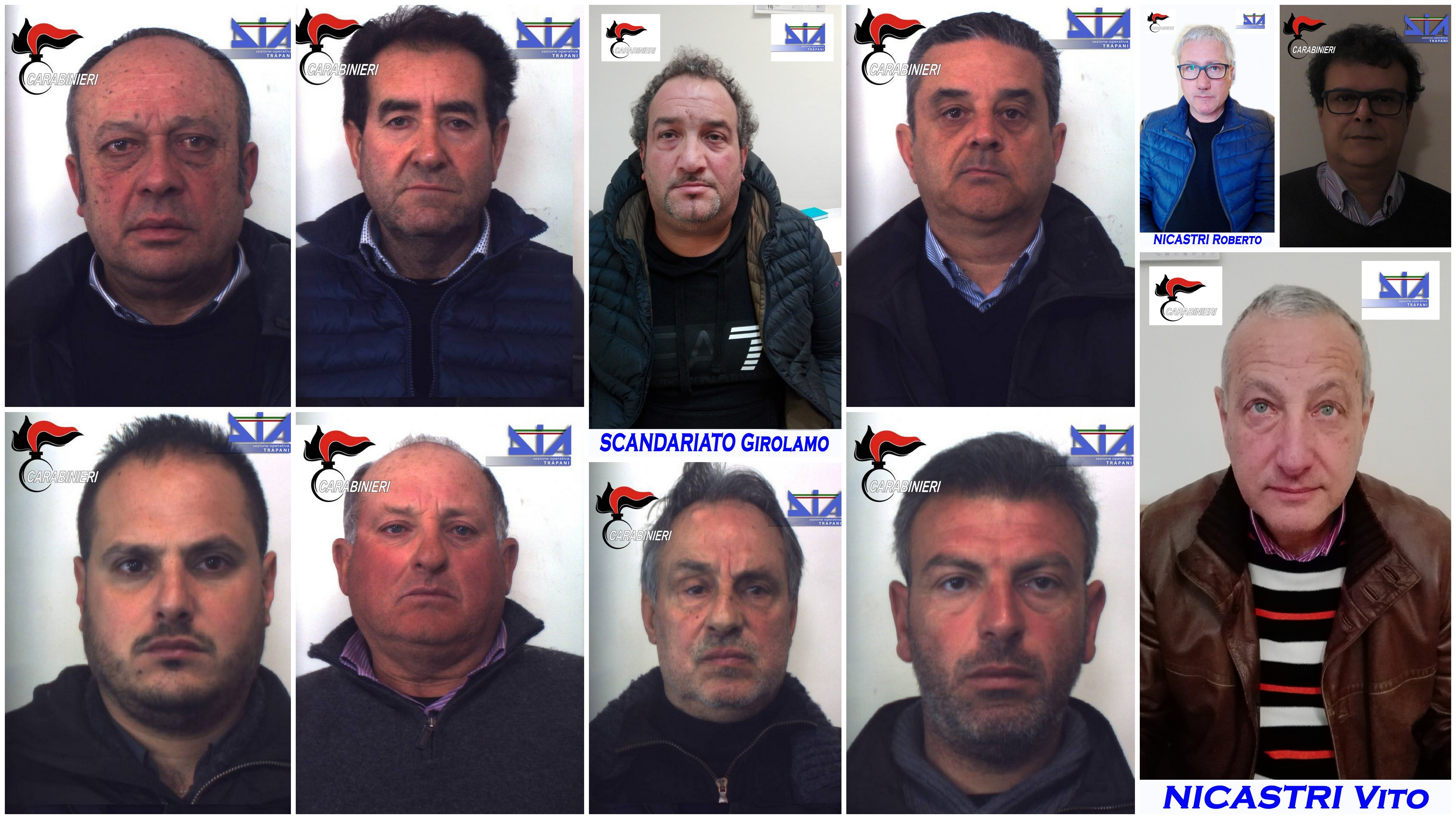 Arresti mafia Operazione Pionica