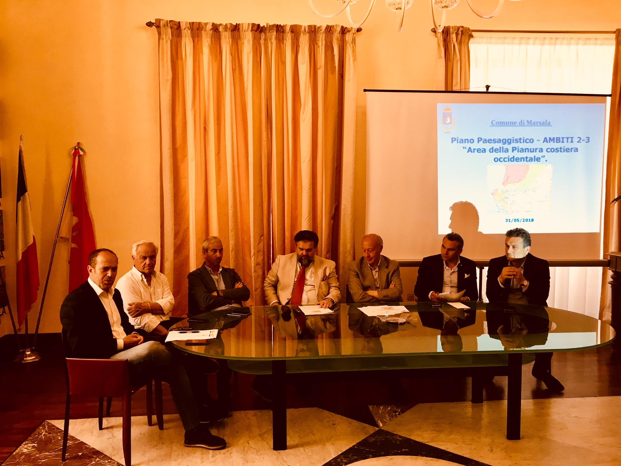 conferenza stampa Piano Paesaggistico