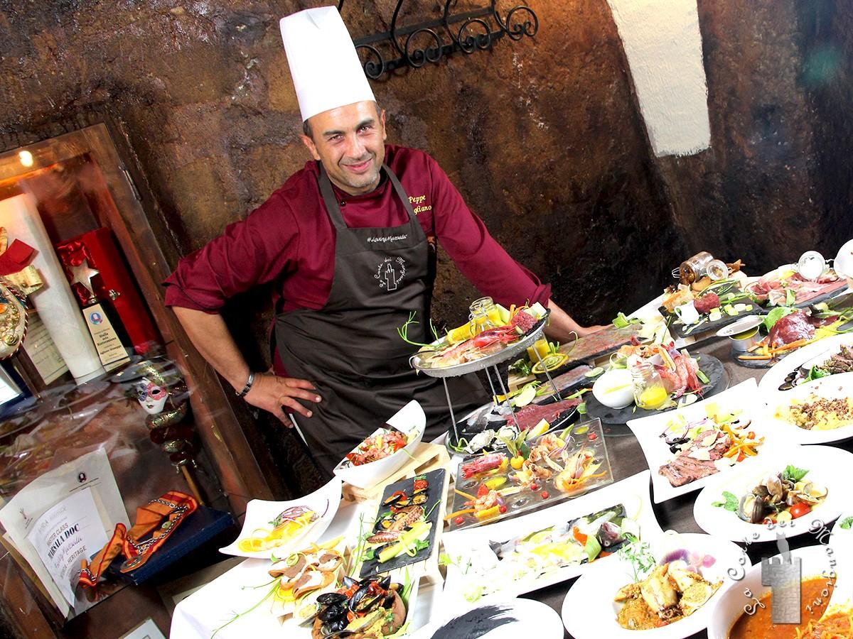 chef Peppe Agliano