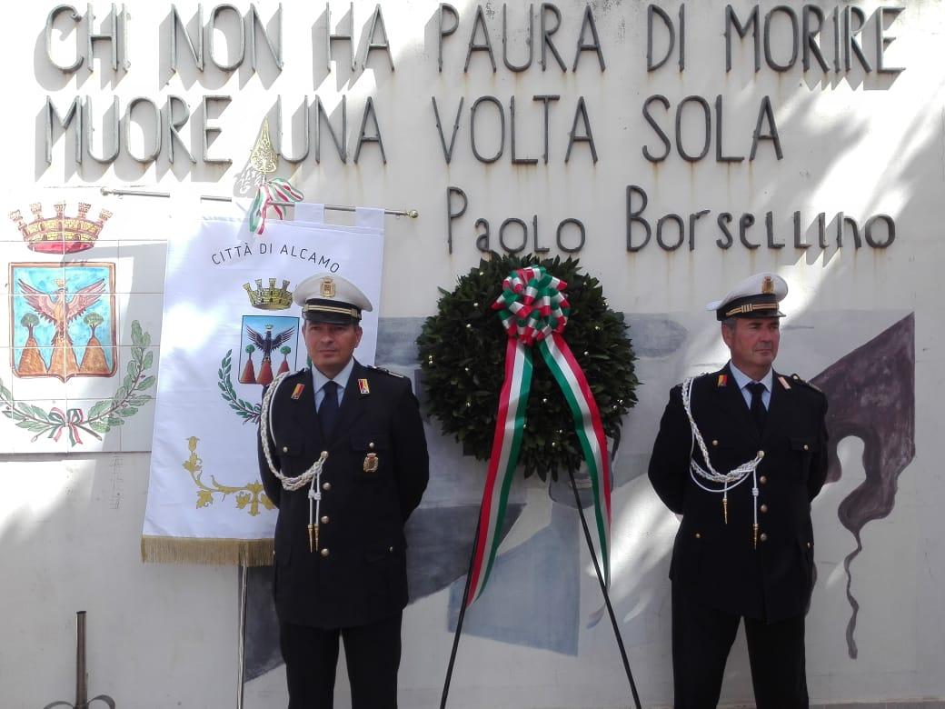 Commemorazione Strage di via D'Amelio - Alcamo
