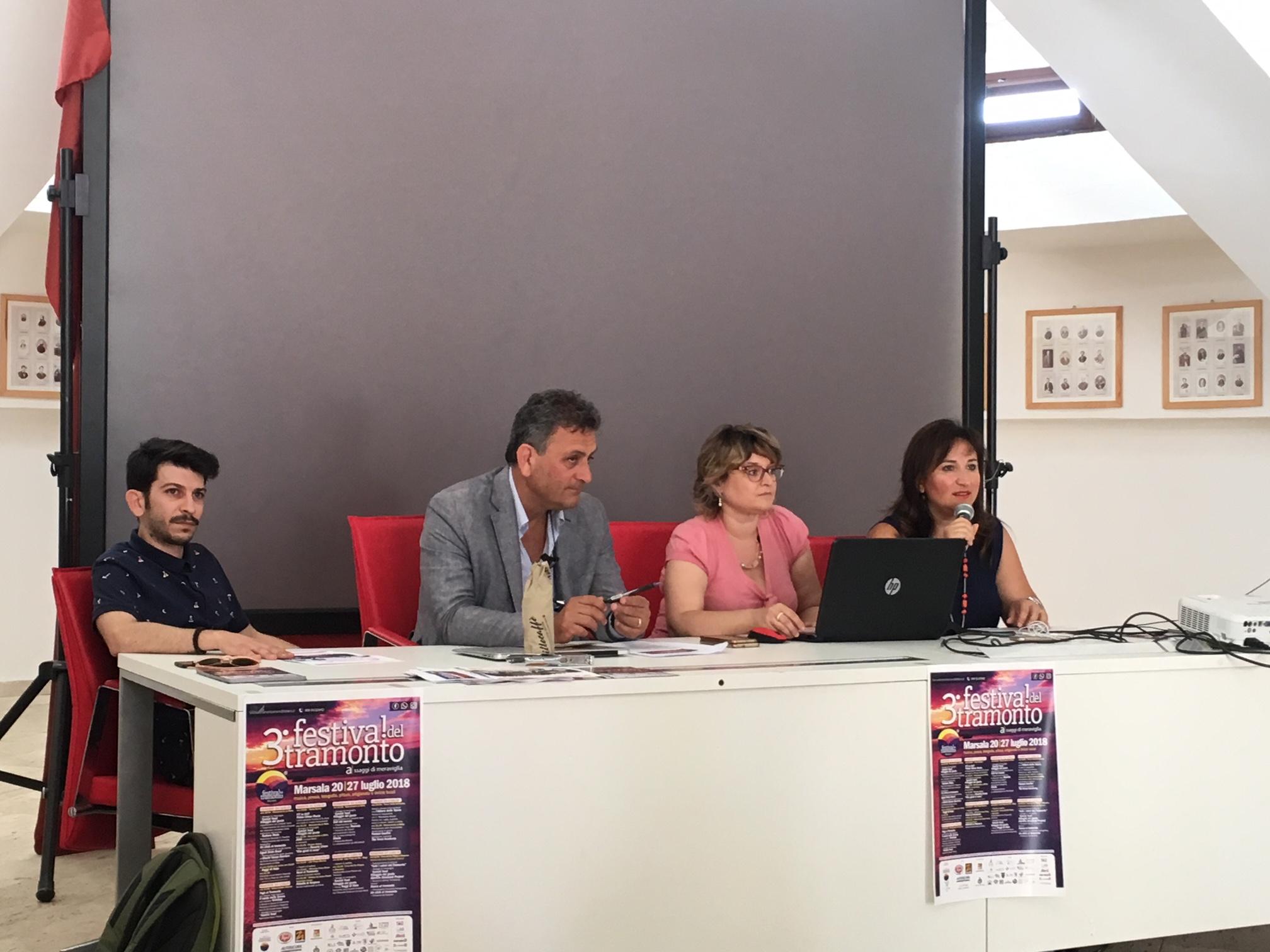 presentazione Festival del Tramonto