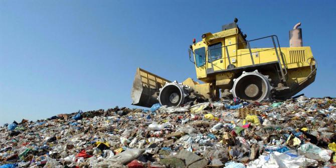 rifiuti in discarica