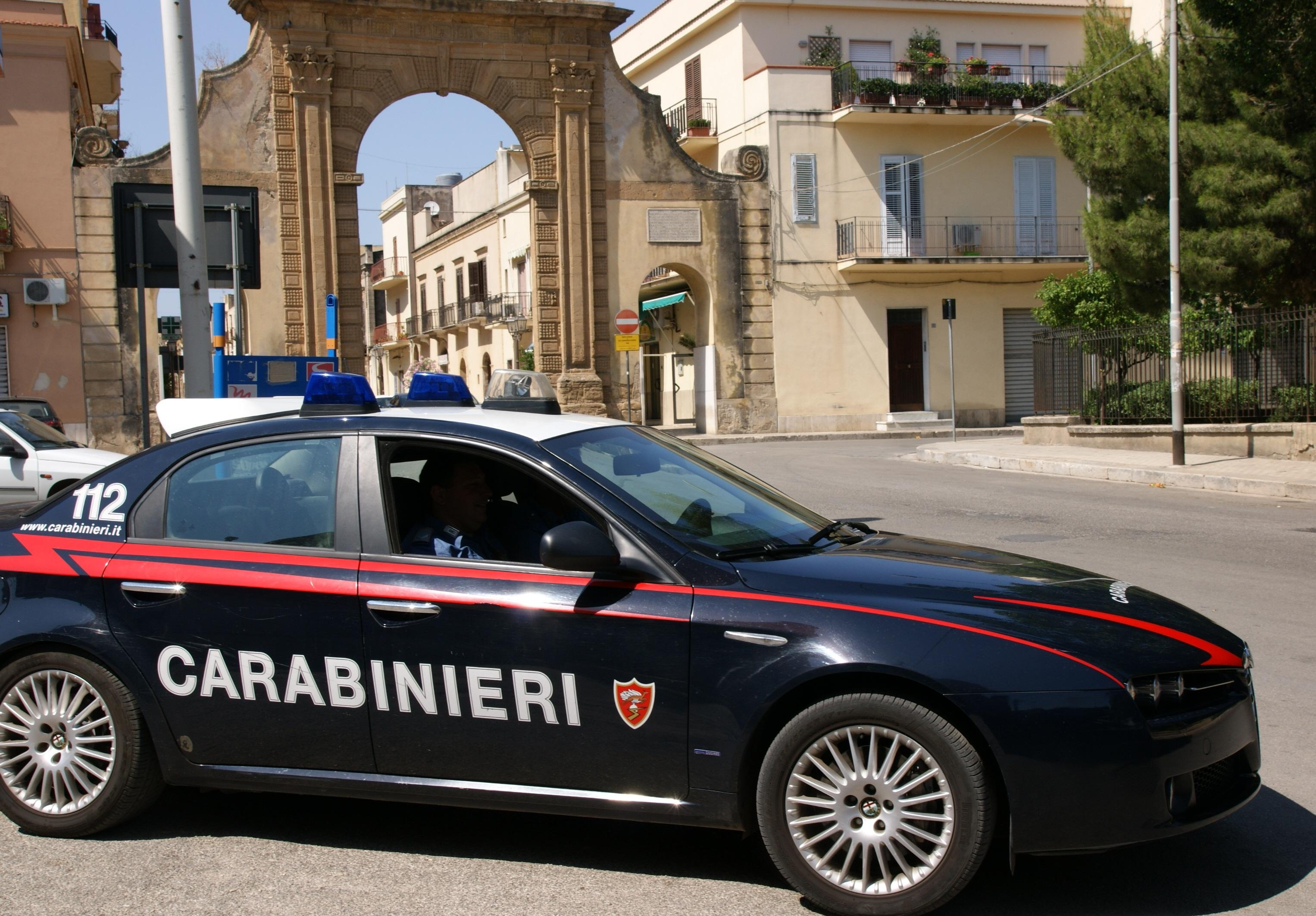 carabinieri castelvetrano norm