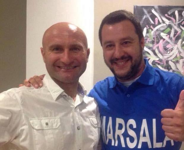 Vito Armato e Matteo Salvini