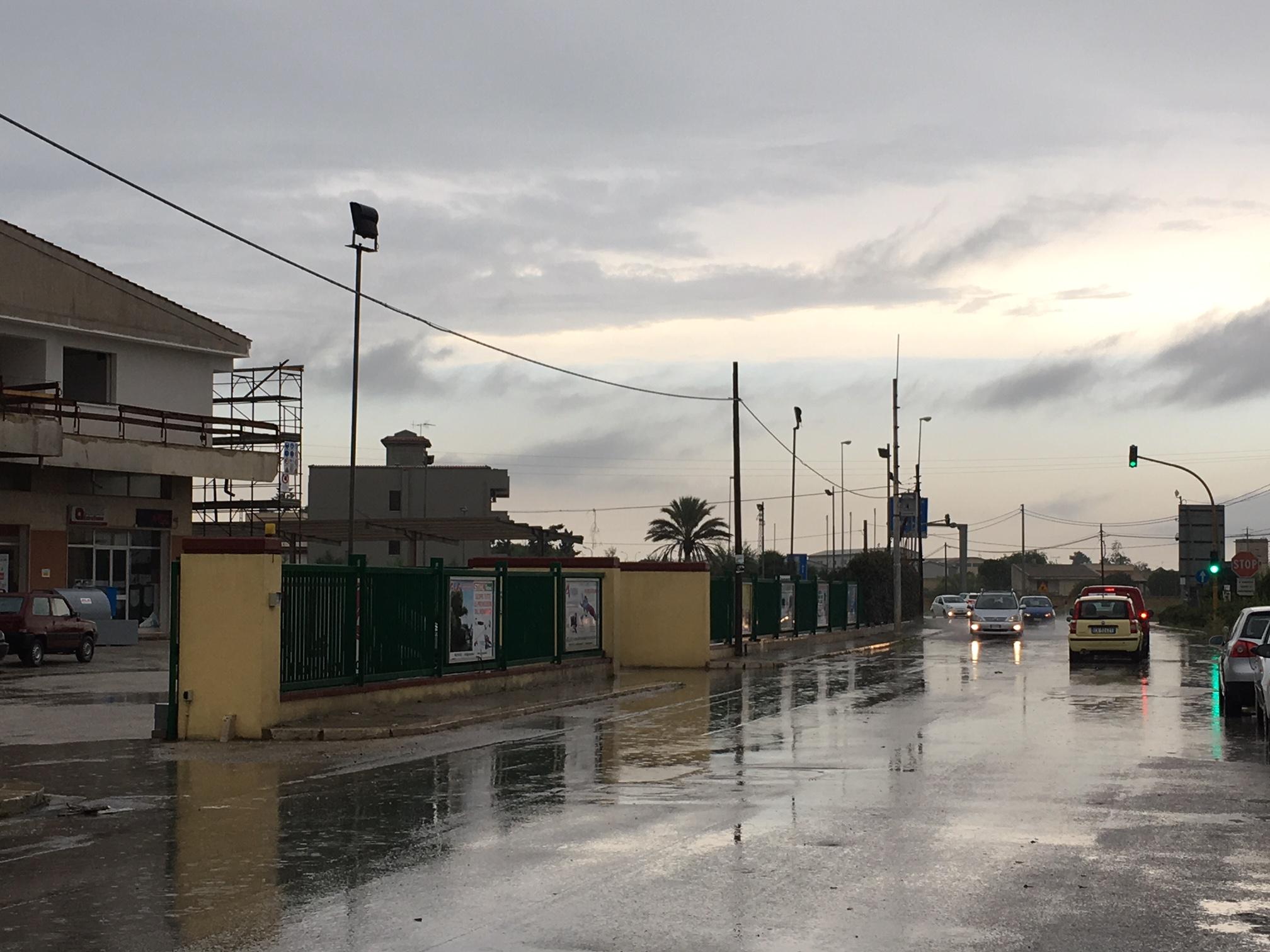 pioggia Mazara