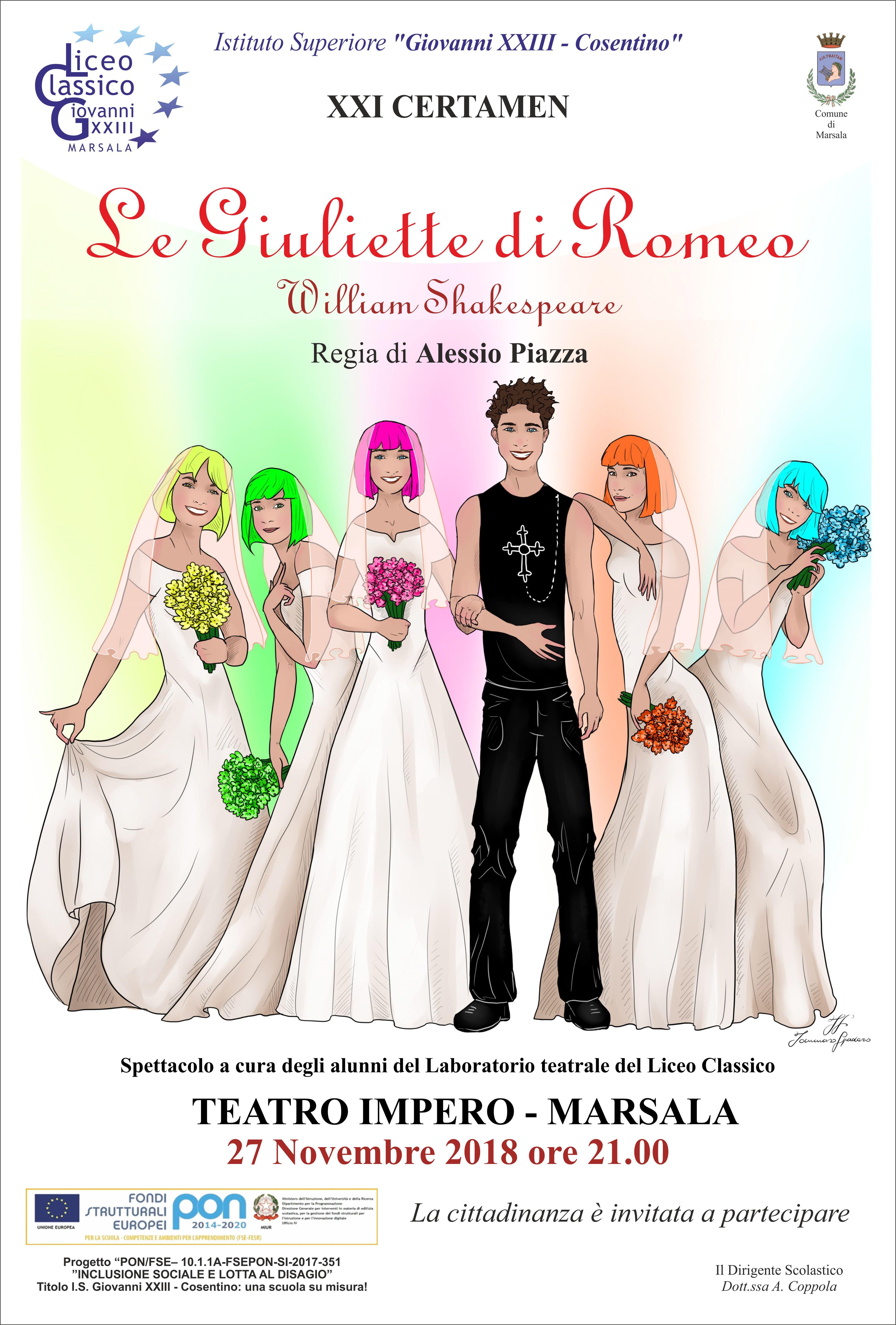 Romeo e Giulietta servizio di incontri