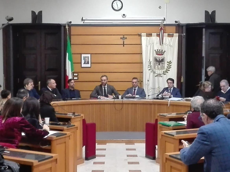 Consiglio comunale Alcamo 27 dicembre
