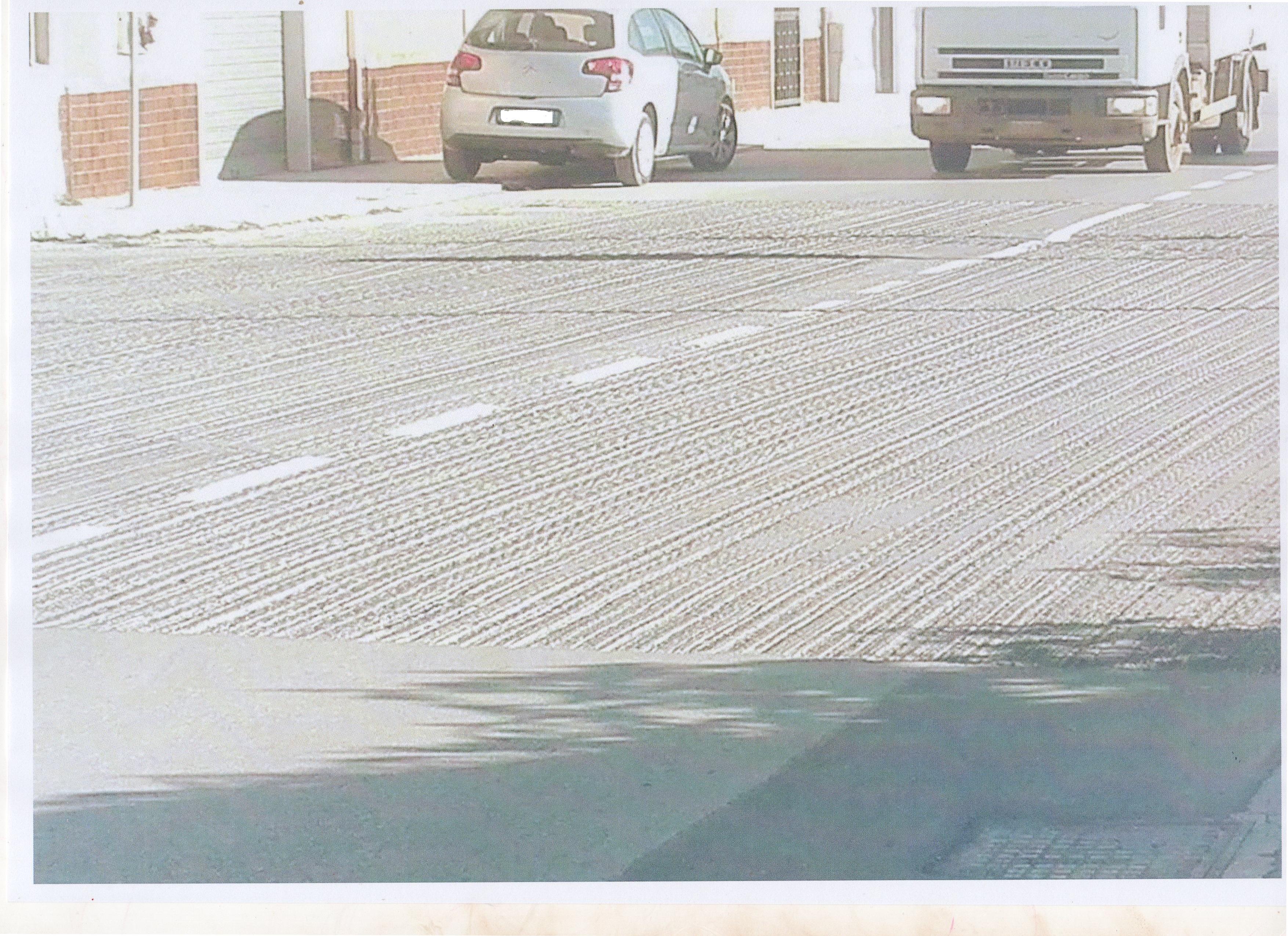 strada scarificata