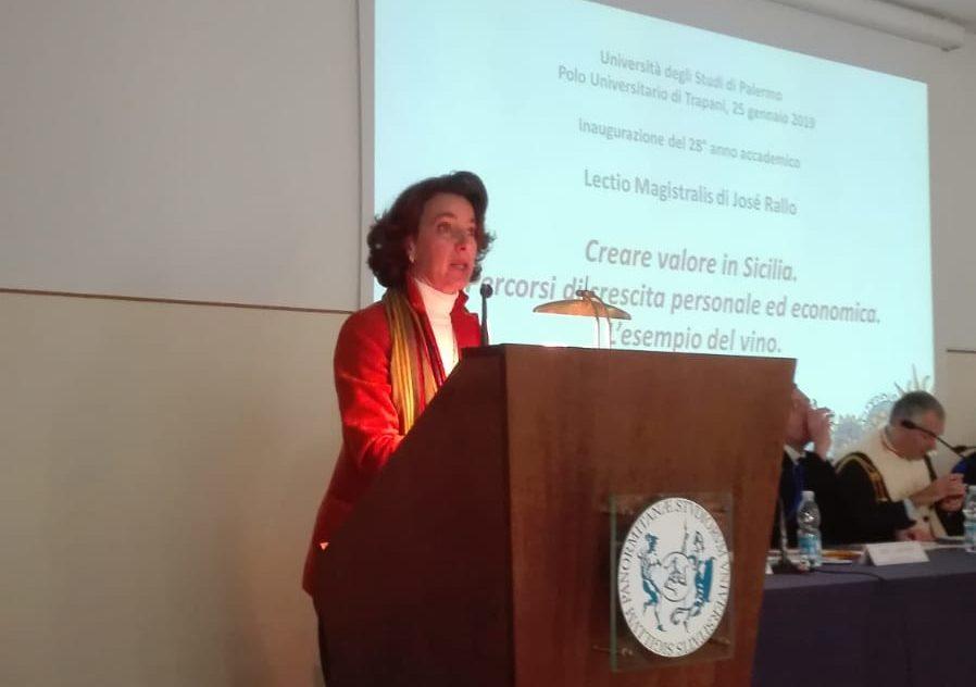 Josè Rallo inaugura anno accademico Trapani
