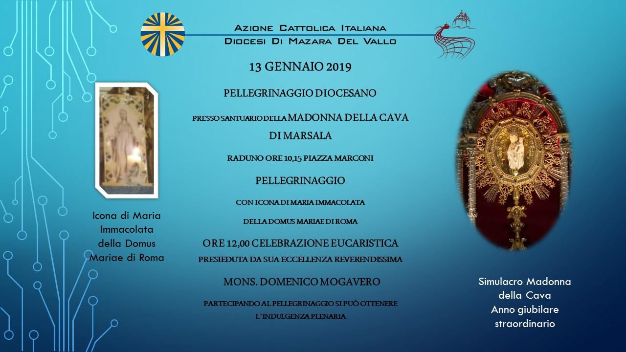 immagina pellegrinaggio Madonna Cava