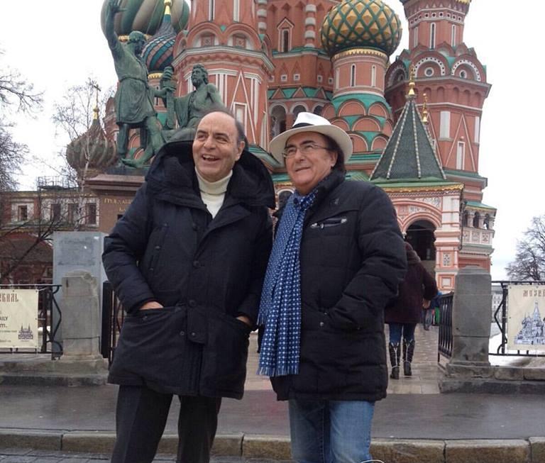 Al Bano Vespa Mosca