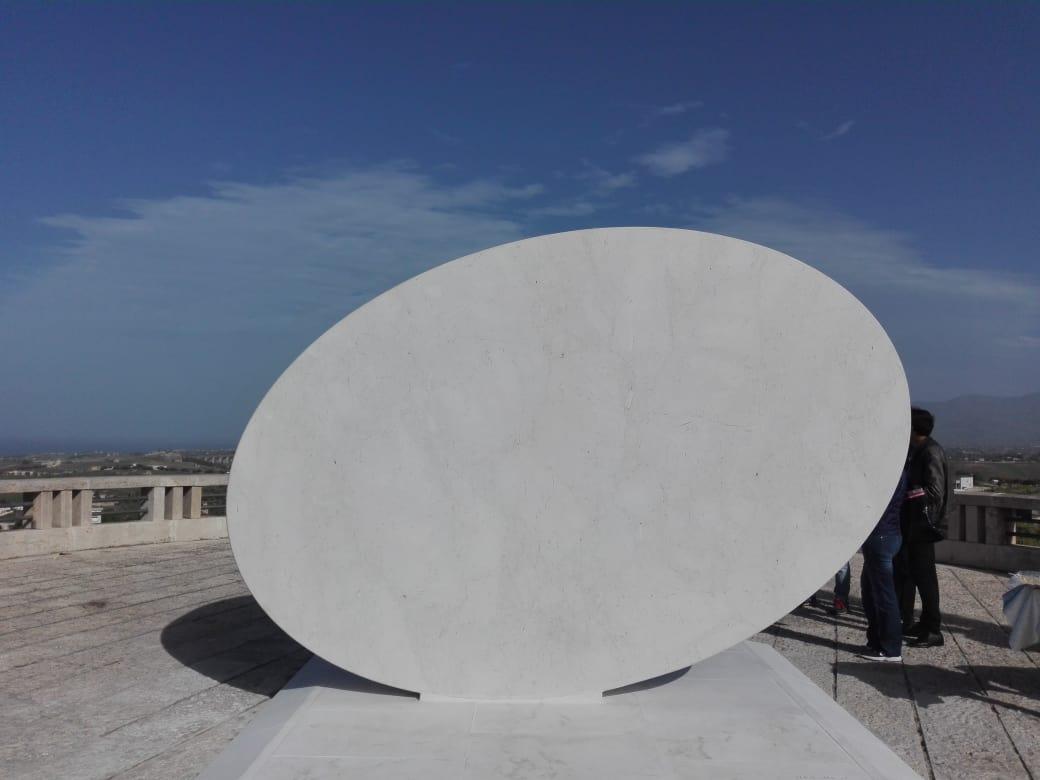 Inaugurata ad Alcamo la scultura di Turi Simeti (VIDEO) - Itaca Notizie