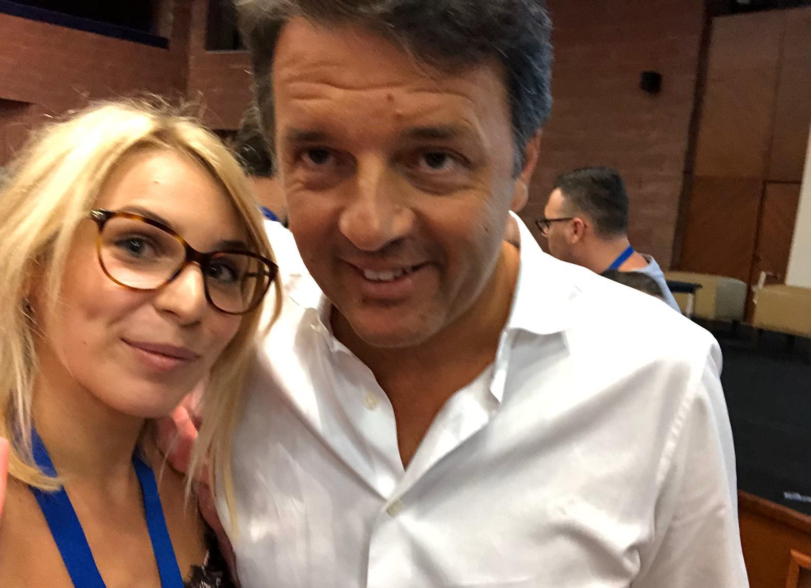 Caterina Loria Matteo Renzi